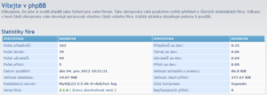 phpbb 3.1.6 verze fora