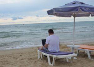 Digitální nomád bulhar Miloš